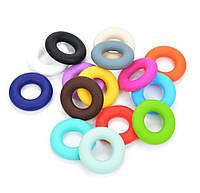 Силиконовые кольца 43 мм для грызунков, слингобус, держателей пустышек, разноцветные, фото 1