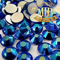 Стразы DMC Sapphire AB ss4(1,6мм).Цена за 100шт.