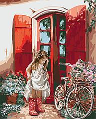 Живопись по номерам Маленькая принцесса (KHO2324) Идейка 40 х 50 см (без коробки)