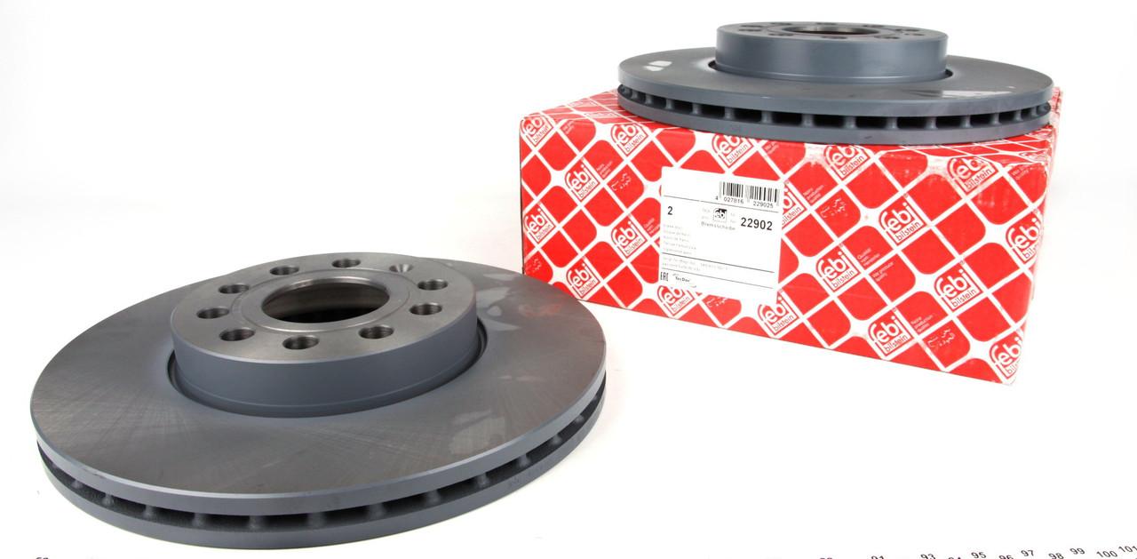 Тормозной диск Кадди / Caddy 2004 - / Golf 1.6 1.9TDI, Jetta 1.6, Touran 2005- FEBI 22902 (288X25 передний )