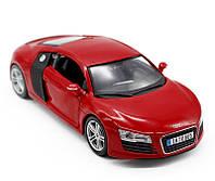 MAISTO Автомодель Audi R8 V10 красный, М1:24