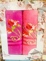 Набор полотенец Розочка