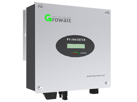 Сетевой инвертор Growatt 3000 S (3 кВт 1 фазный 1 MPPT), фото 2