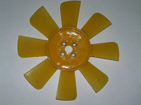 Крыльчатка вентилятора, Transit 2.5D/TD 92- (желтая)