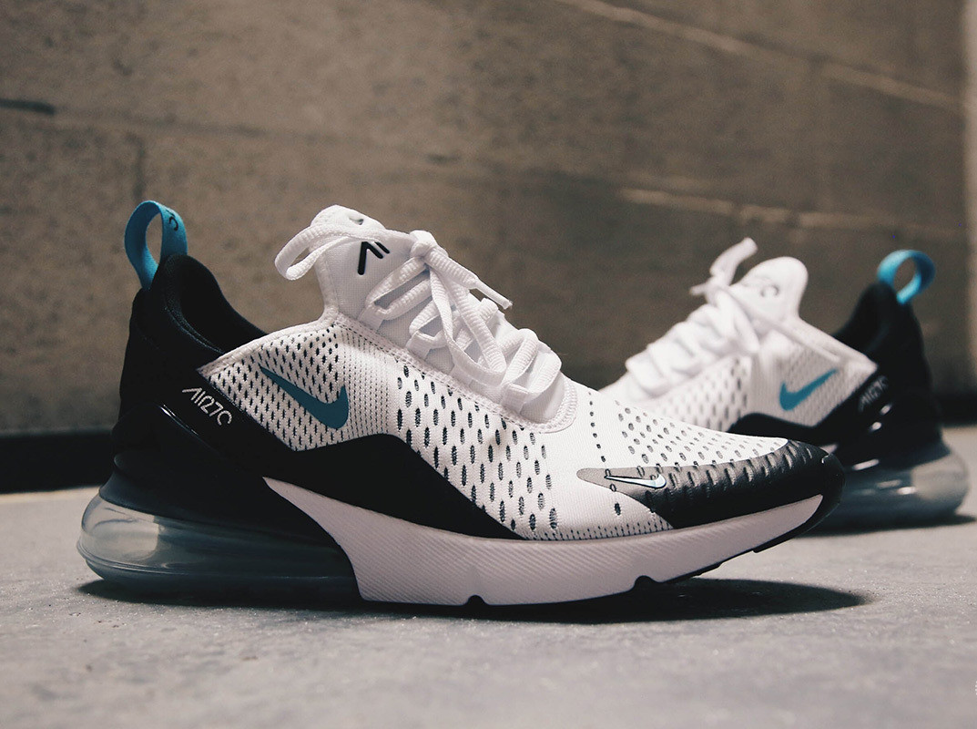 """Кроссовки Nike Air Max 270 """"Teal"""" """"White/Dusty Cactus-Black"""""""
