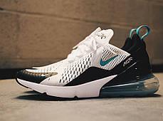 "Кроссовки Nike Air Max 270 ""Teal"" ""White/Dusty Cactus-Black"", фото 2"
