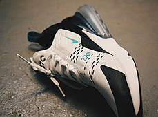 "Кроссовки Nike Air Max 270 ""Teal"" ""White/Dusty Cactus-Black"", фото 3"