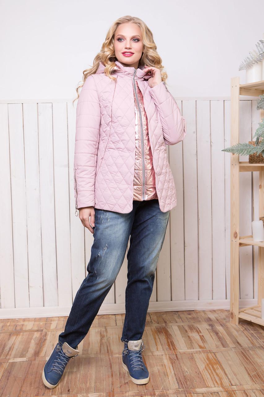 Стильная, демисезонная куртка по 58й размер
