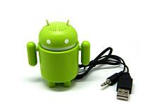 Портативная колонка Android Robot TF, MicroSD FM