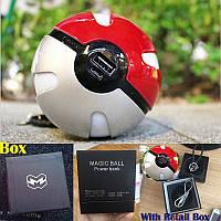 Павербанк Покебол внешний аккумулятор Power Bank (Покешар, Pokeball) 10000 mah для фанатов игры Pokemon Go , фото 1