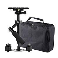 S40 ручной стабилизатор стедикам фото видеокамер 40 см +чехол