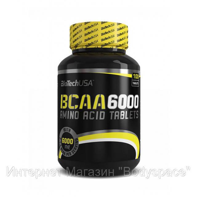 Biotech USA, Бцаа BCAA 6000, 100 таблеток