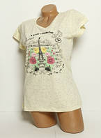 Женская футболка Eiffel Tower 241x21 Турция s/m/l