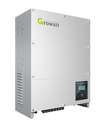 Сетевой инвертор Growatt 7000UE (7 кВт 3 фазы 2 MPPT), фото 2