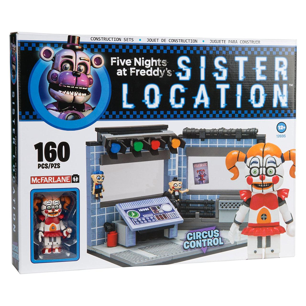 Конструктор 5 ночей с Фредди McFarlane Toys Five Nights Контроль Цирка