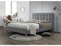 Кровать Signal Alice 160x200 серый
