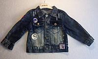Куртка — Джинс 2-4 лет. Куртка на девочку со звездочками