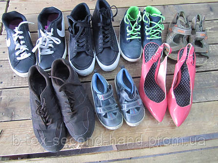 Взуття мікс, Ч+Ж+Д