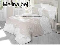 Постельное белье евро комплектAltinbasak (Турция), Melina bej - евро