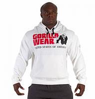 Классическая толстовка с капюшоном Gorilla wear Classic Hooded Top (White)