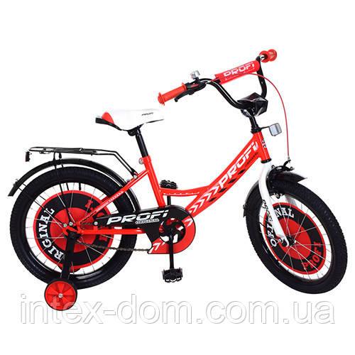 """Детский двухколесный велосипед PROFI Original boy 18"""" (Y1845) Красный"""