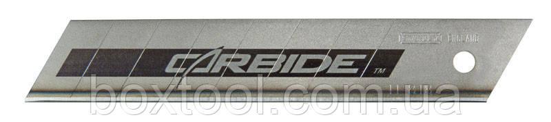 Лезвие Carbide 18 мм 5 шт Stanley STHT0-11818