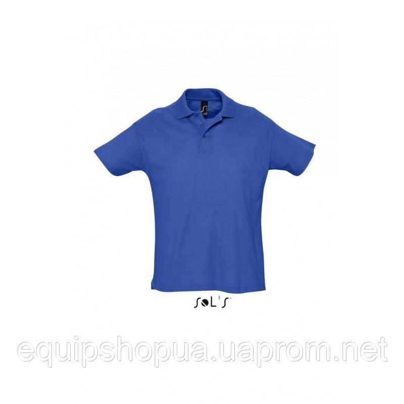 Рубашка поло мужская SOL'S SUMMER II-11342 Синий, XXL