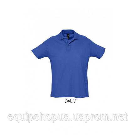 Рубашка поло мужская SOL'S SUMMER II-11342 Синий, XXL, фото 2