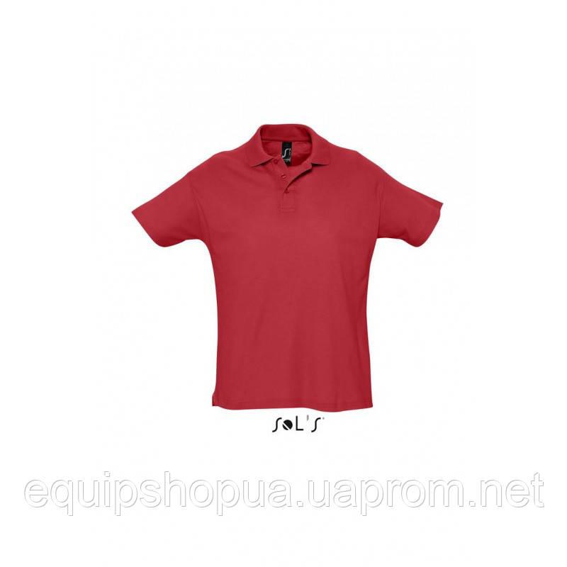 Рубашка поло мужская SOL'S SUMMER II-11342 Красный, XS