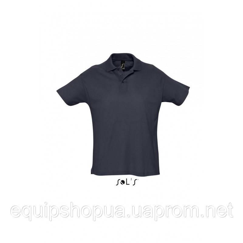 Рубашка поло мужская SOL'S SUMMER II-11342 Тёмно-синий, XXL