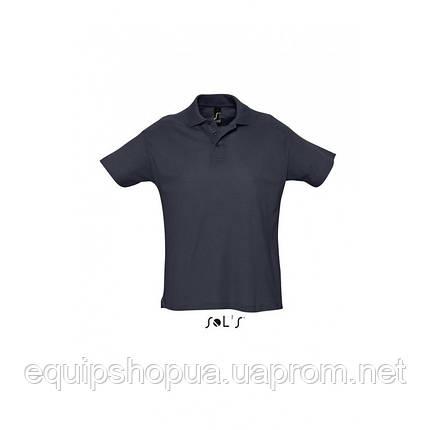 Рубашка поло мужская SOL'S SUMMER II-11342 Тёмно-синий, XXL, фото 2