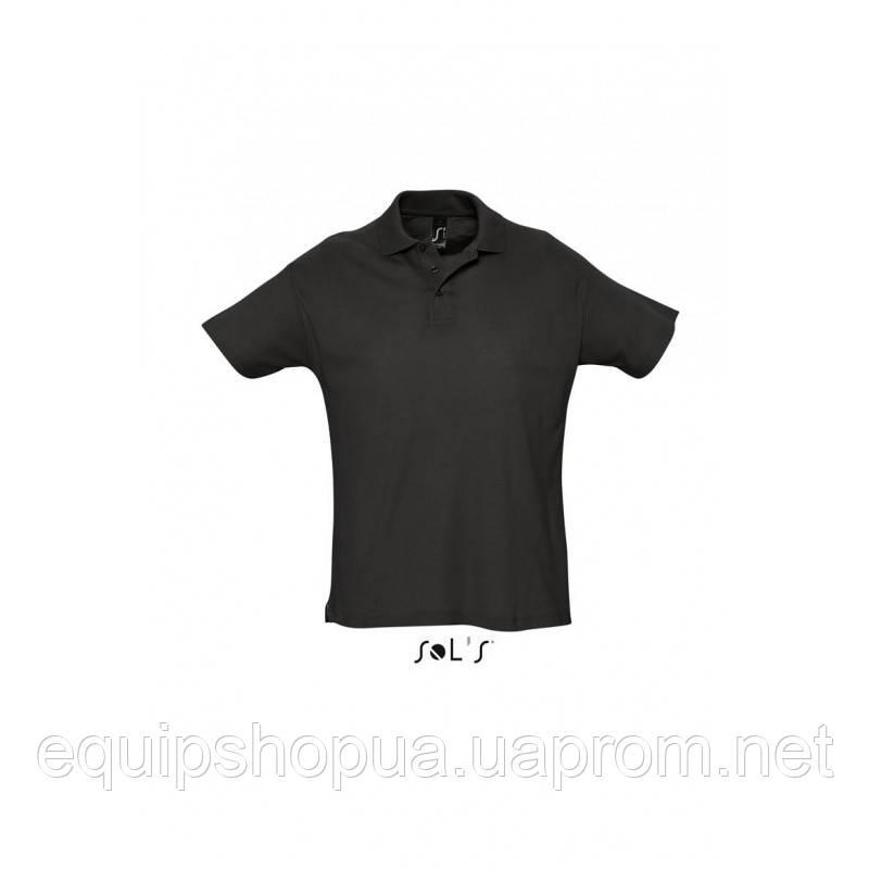 Рубашка поло мужская SOL'S SUMMER II-11342 Чёрный, XXL