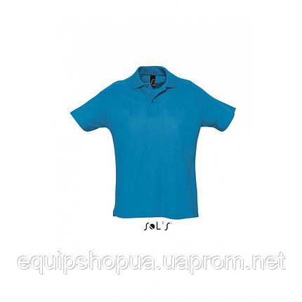 Рубашка поло мужская SOL'S SUMMER II-11342 Морской, XS, фото 2