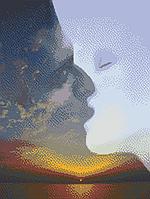 Схема для бисера А-2 Поцелуй небес, фото 1