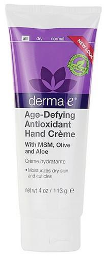 Антивозрастной антиоксидантный крем для рук *Derma E (США)*