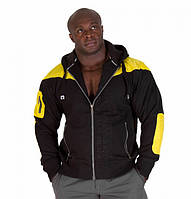 Куртка Gorilla wear Disturbed Jacket (Black/Yellow)