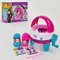 """Детский набор для Вязания """"Braiding machine"""", машинка для плетения, нитки, MBK288"""