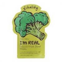 Тканевая маска Tony Moly I'm Real Mask Sheet  Brocolli