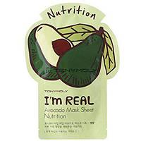 Тканевая маска Tony Moly I'm Real Mask Sheet  Avocado