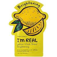 Тканевая маска Tony Moly I'm Real Mask Sheet  Lemon