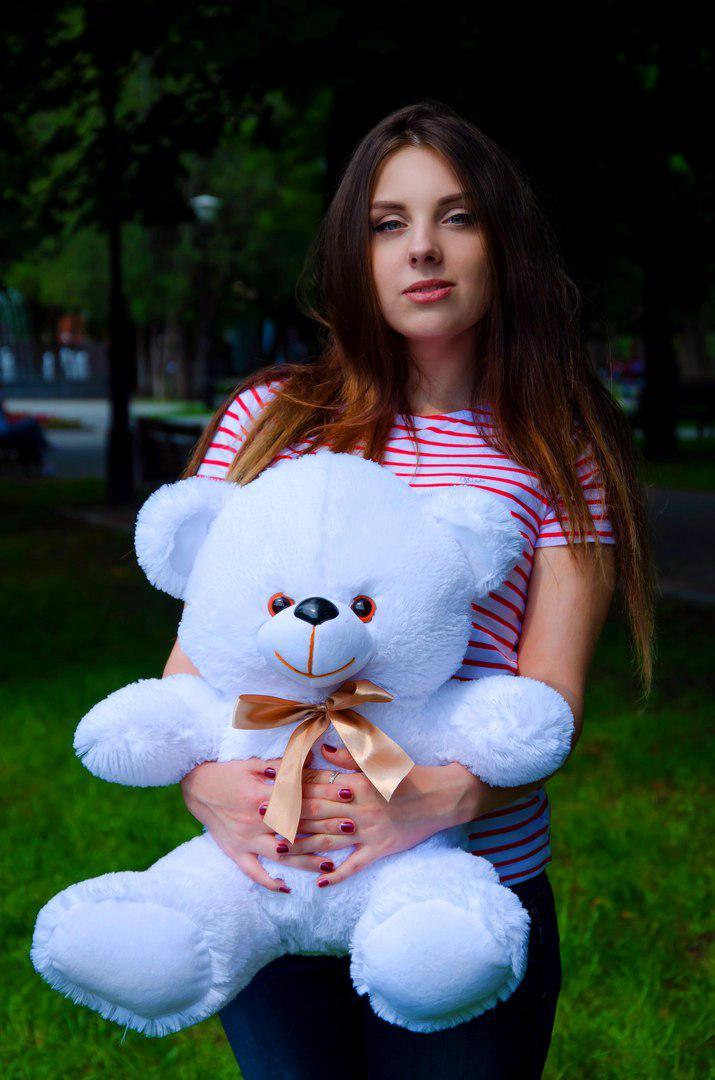 Большой плюшевый медведь 65см. Томми разные цвета (плюшевый мишка, мяг