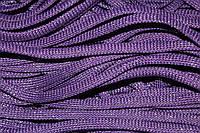 Шнур плоский 8мм (100м) фиолетовы + серебро