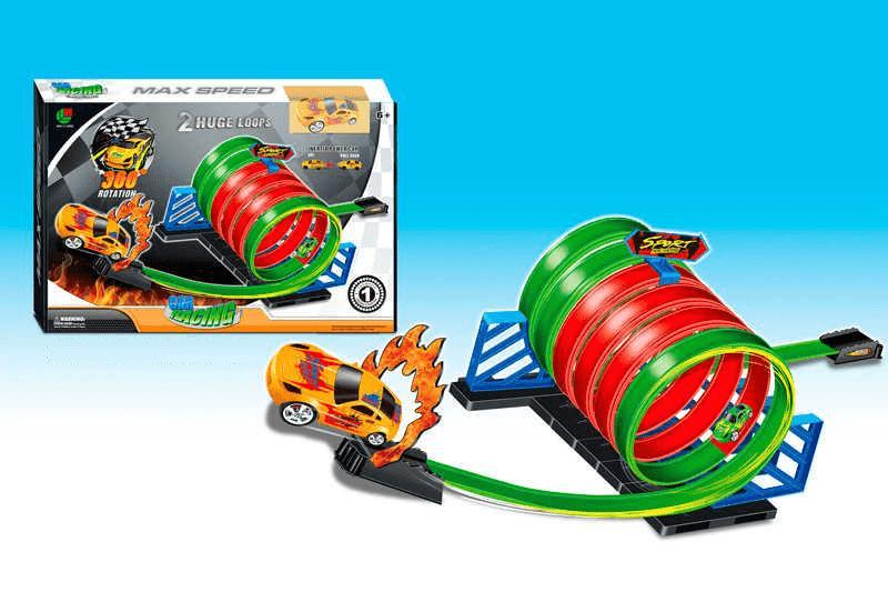 Трек Car racing: Super power