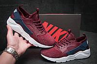 Кроссовки мужские Nike Air Huarache, бордовые (11593), р. 41-46