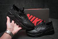 Кроссовки мужские Nike Air Huarache, черные (11591), р. 41-46