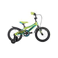 """Детский велосипед Avanti Spike 16"""" зелено-синий"""