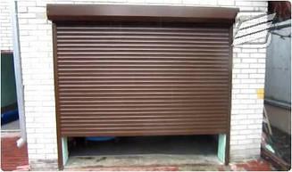 Рольставни защитные гаражные (ламель — 77 мм)