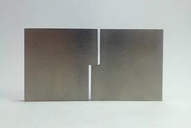 ODF-10-01-01 Шарнирная петля для стекла мебельная под УФ-склейку для стеклянного торгового оборудования