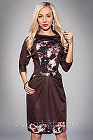 Женское платье ANGELINA 442-4.Размеры 52