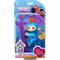 Интерактивная игрушка обезьянка Fingerlings Baby Monkey (Фингерлингс Бейби Манки) Борис, фото 1